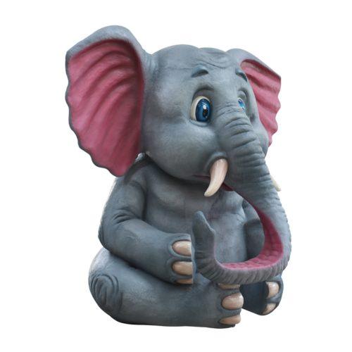 éléphant assis 3M nlcdeco
