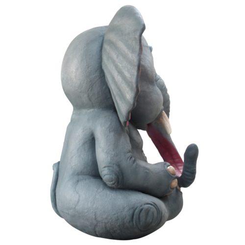 éléphant assis de 3M nlcdeco