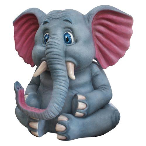 énorme éléphant assis de 3M nlcdeco