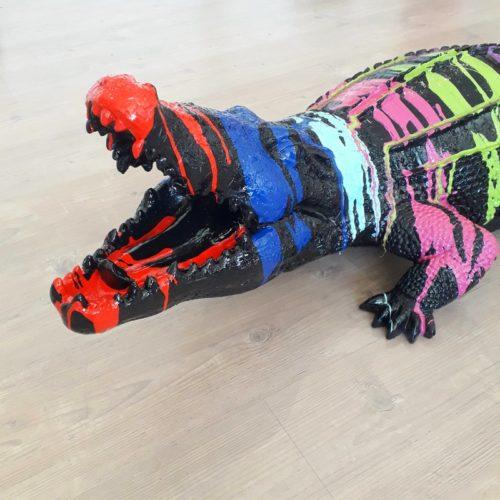 Crocodile-noir-peinture-coloré-nlcdeco.jpg