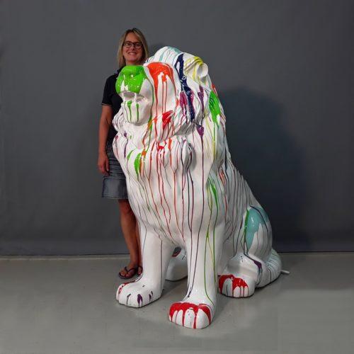 Lion assis nlcdeco