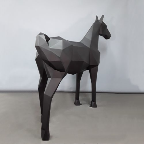 Cheval origami design moderne nlcdeco