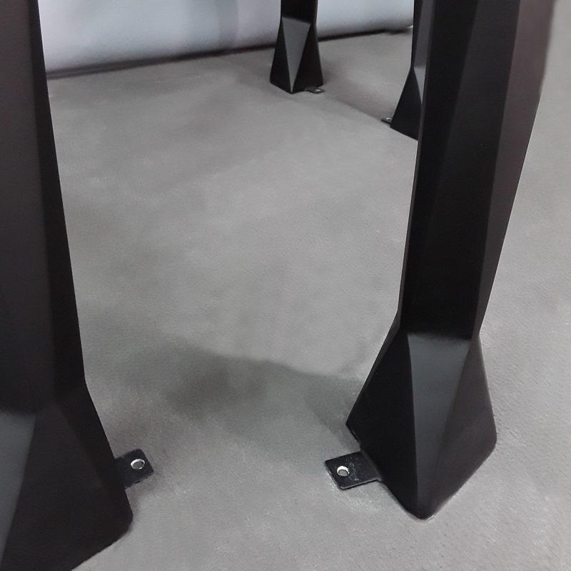 Cheval origami pattes de fixation au sol nlcdeco