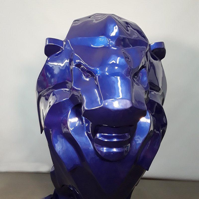 Tête du Lion moderne nlcdeco