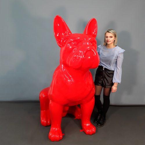 Bouledogue géant rouge nlcdeco