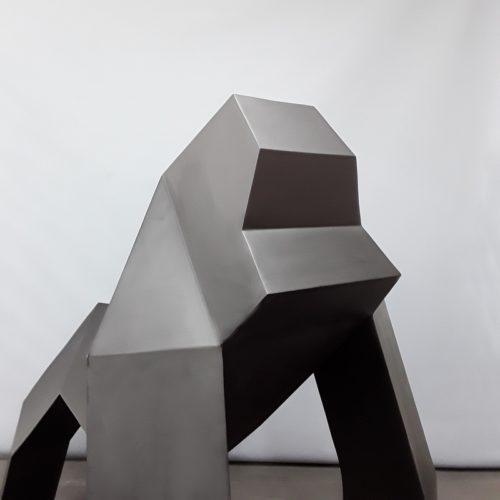 Gorille moderne noir nlcdeco