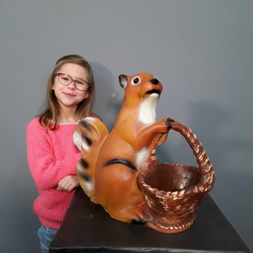 statuette animal Ecureuil nlcdeco