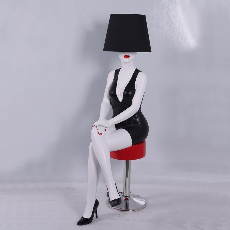 Lampe femme décoration design résine nlcdeco