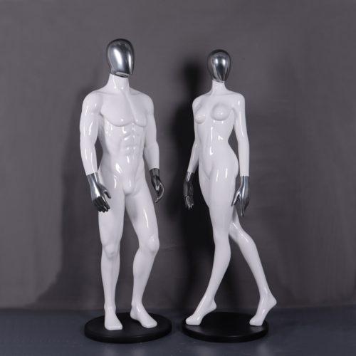 Mannequins robot couple nlcdeco