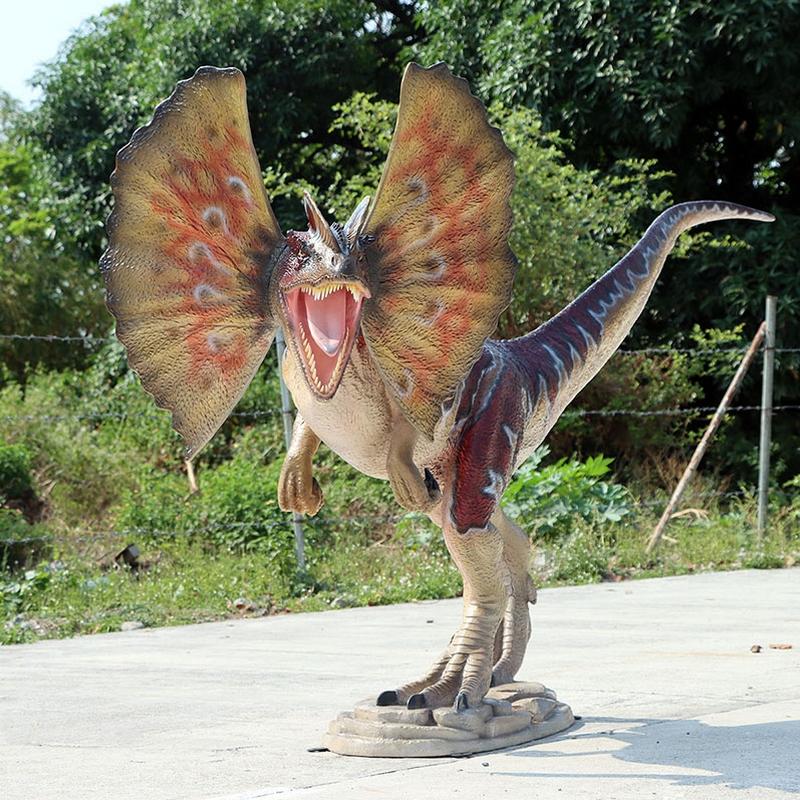 Dilophosaure dinosaure carnivore nlcdeco