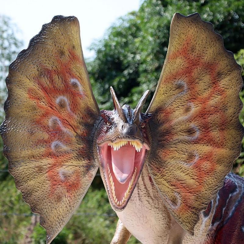 Dilophosaurus à 2 crêtes nlcdeco