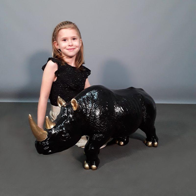 rhinocéros chic moderne nlcdeco