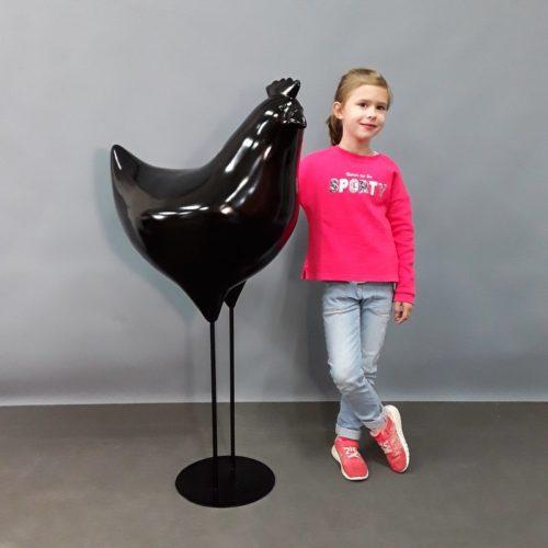 Coq noir moderne nlcdeco