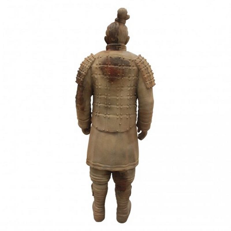 Statue guerrier chinois nlcdeco