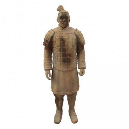 Statue guerrier chinois pierre nlcdeco