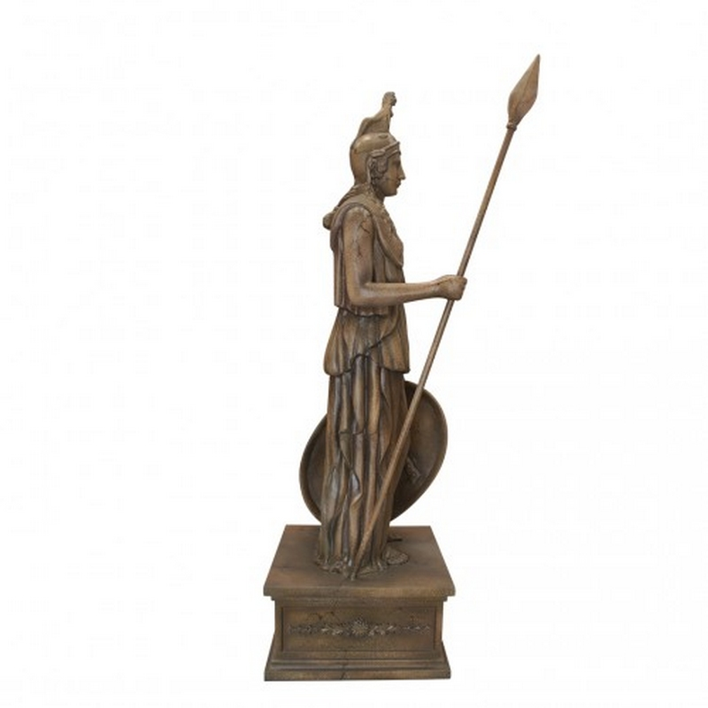 Statue résine guerrier Atlantide nlcdeco