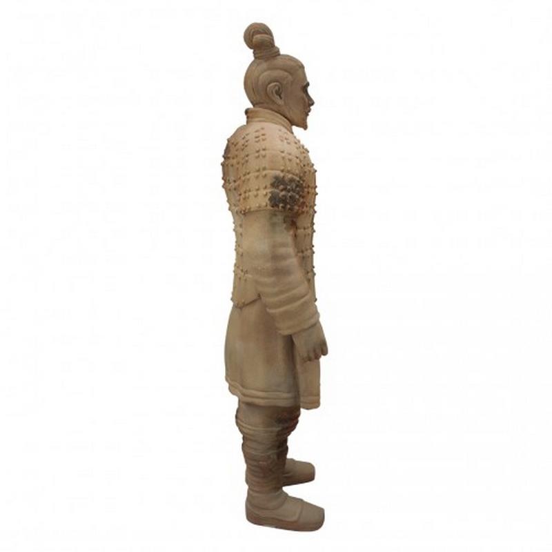 Statue résine guerrier chinois nlcdeco
