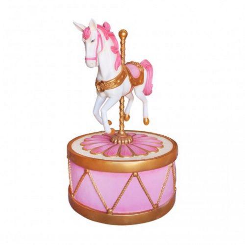 Cheval de carrousel décor fête foraine nlcdeco