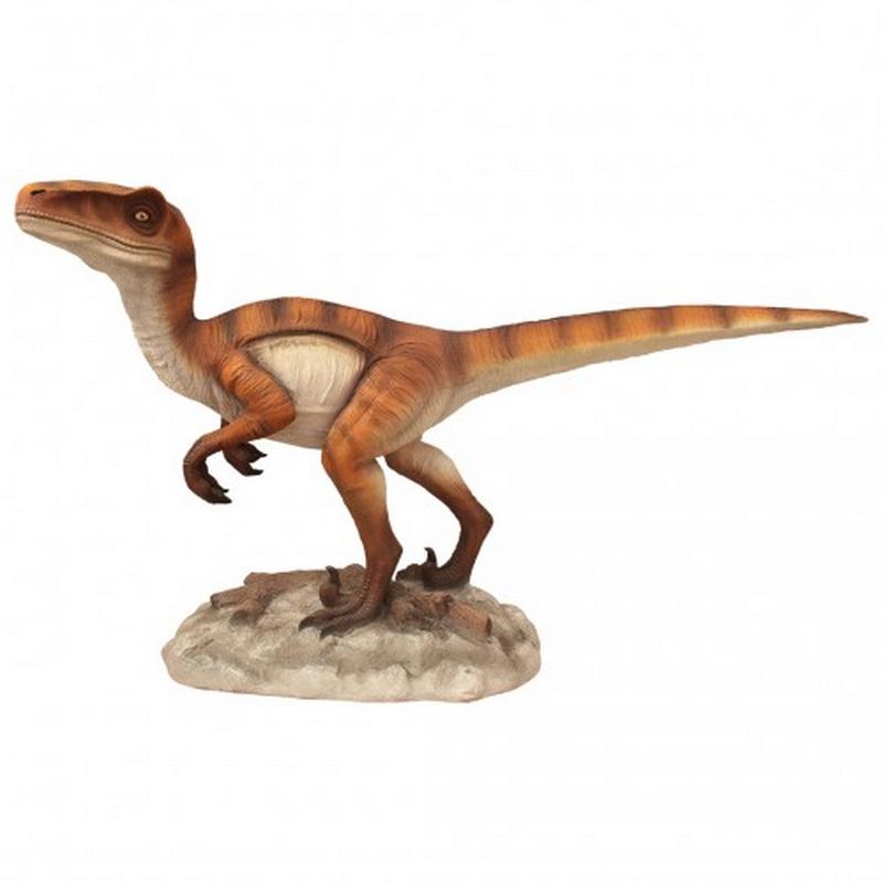 Vélociraptor sur rocher nlcdeco