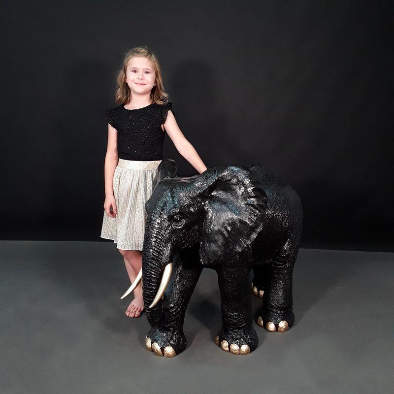 éléphant décor design nlcdeco