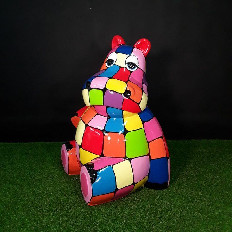 hippopotame géant nlcdeco