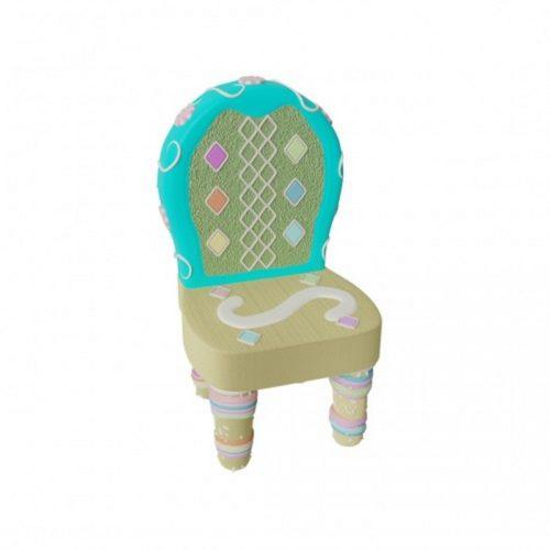 chaise décorée pour pâques nlcdeco