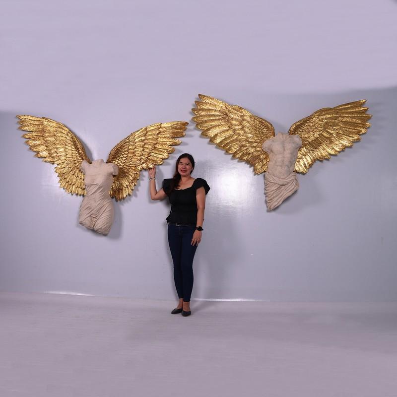 Buste d'anges décoration murale élégante nlcdeco