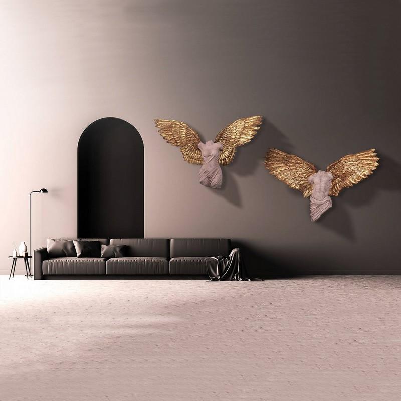 Bustes d'anges décoration murale nlcdeco