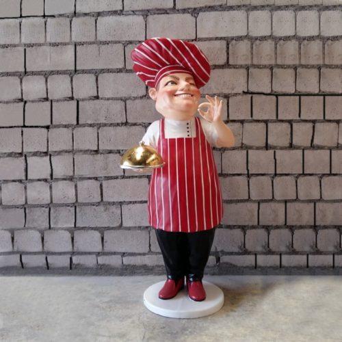Chef cuisinier Italien stop trottoir nlcdeco