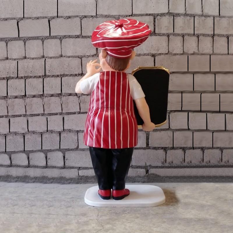 cuisinier Italien stop trottoir nlcdeco