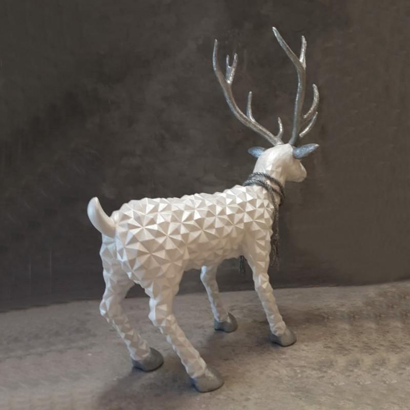 silver reindeer nlcdeco