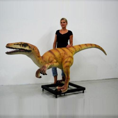 Vélociraptor-en-résine animaux deco resine nlc déco