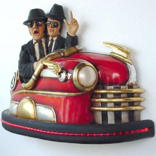 Blues Brothers décor nlcdeco voiture