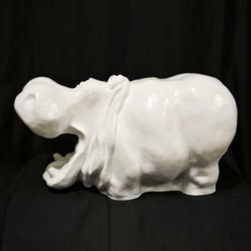 Hippopotame-PM-blanc nlcdeco