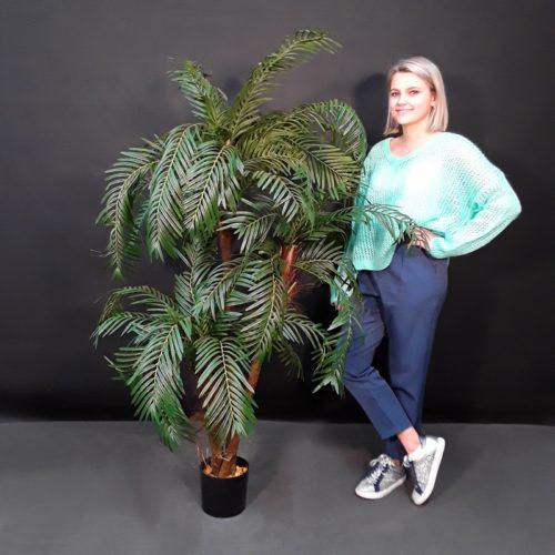 Palmiers avec 3 troncs artificiel pépinière nlcdeco