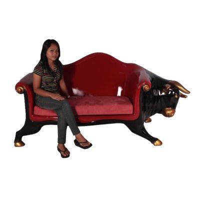 Sofa taureau