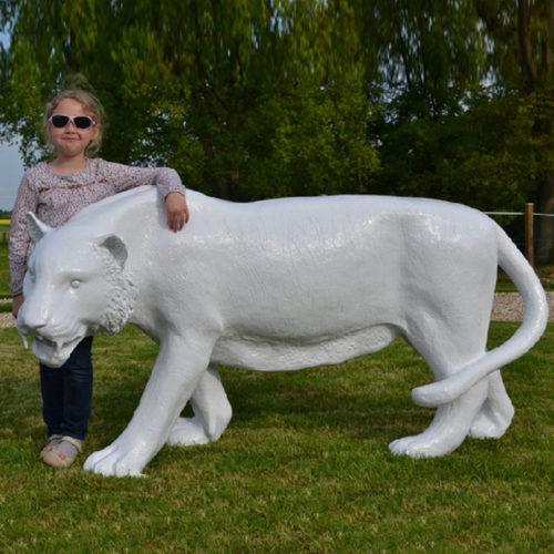 Tigre-couleur nlcdeco animaux en résine