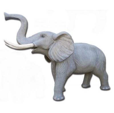 Éléphant grandeur nature