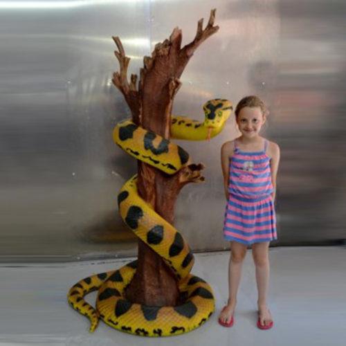 Anaconda animaux résine nlc déco deco animaux