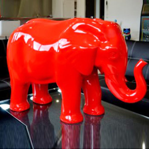 Elephant-design-rouge nlcdeco