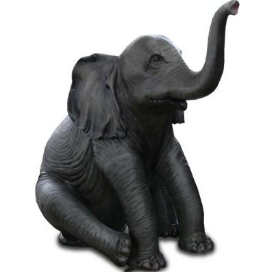 Elephanteau assis