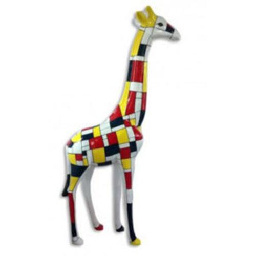 Girafe-M-décor-Mondrian-nlcdeco