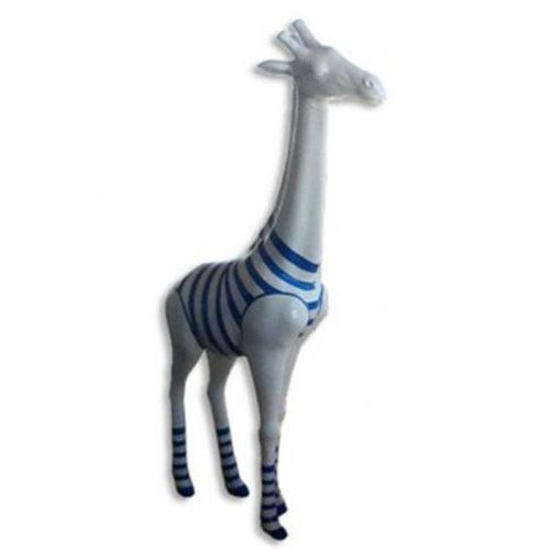 Girafe-M-rouge-marinière-bleue nlcdeco