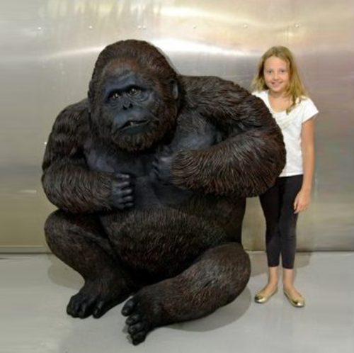 Gorille assis grand modèle NLC DECO