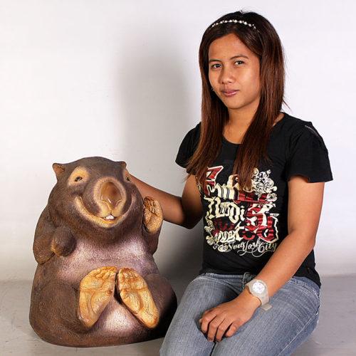 Wombat australien 110071 nlc deco