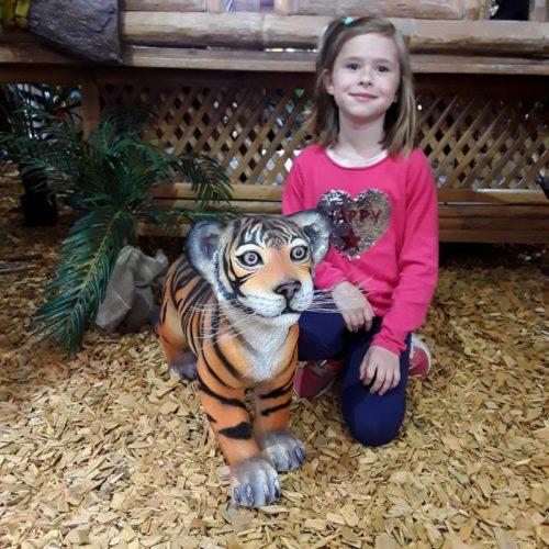 tigre debout zoo nlcdeco