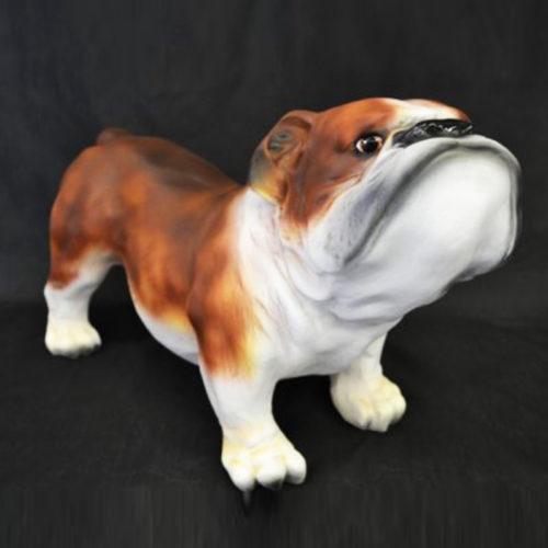 Bouledogue-anglais chien resine nlcdeco déco animaux