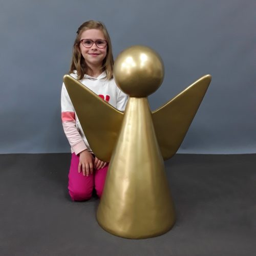 Ange design doré nlcdeco