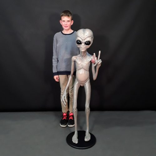 Extraterrestre signe victoire nlcdeco