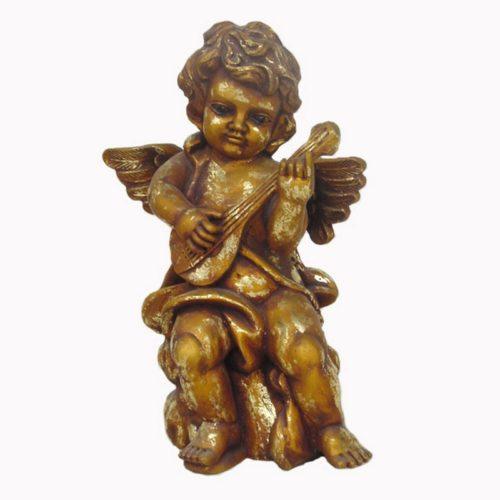 Statuette ange antiquaire nlcdeco